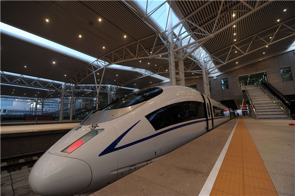 High Speed Train to Yiwu