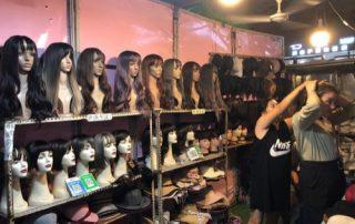 Yiwu Night Market Fake Hair