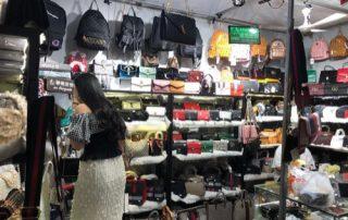 Yiwu Night Market Lady Bags