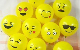 MindenSourcing Emoji balloons