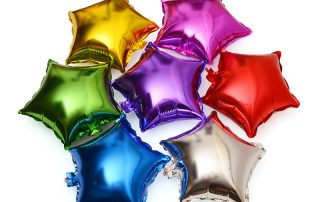 MindenSourcing Party Products Star foil ballons