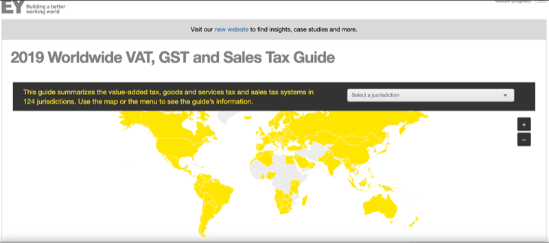 2019 Worldwide VAT, GST and Sales Tax Guide