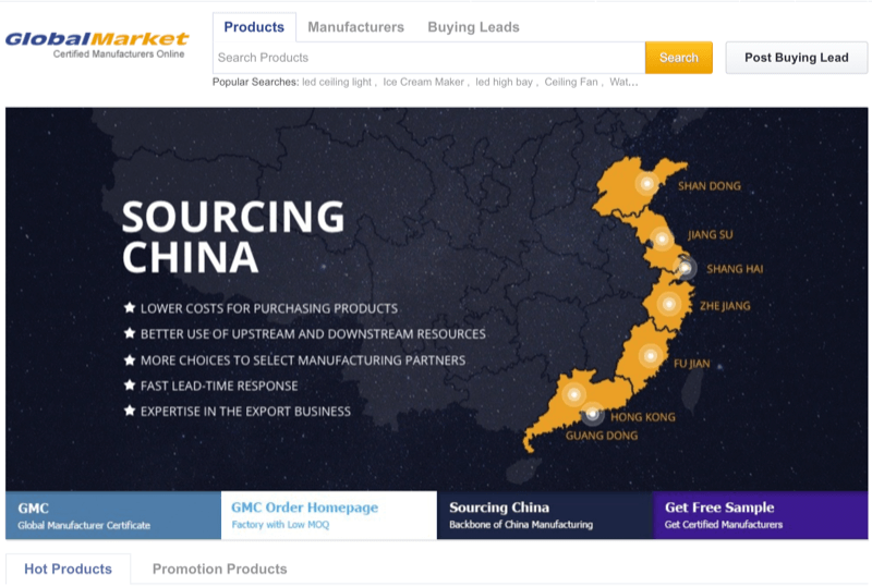 Source Hot Products from GlobalMarket