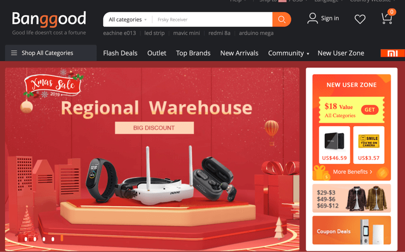Sourcing Electronics and Accessories from Banggood